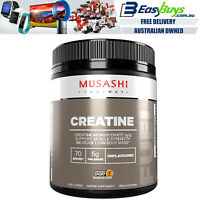 Musashi Creatine Monohydrate Micronised Powder PRO Strength Easy Mix HPLC 350g