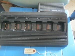 Motorola HTN9005B 6 Port Battery Charger. (Reference 20/05/2020)