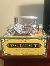 Avon Silver Touring T Car Decanter - Everest after shave - 1978