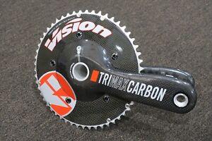 vision trimax aero carbon crankset BB30 172.5 53/39 NEW