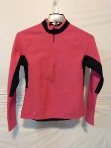 Sportful Women's Long Sleeve Midweight Cycling Jersey Medium Pink