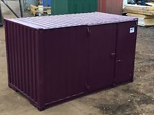 Ply Lined Shipping Container - 16ft - Side Door - Store - Workshop