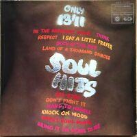 SOUL HITS 1ST PRESS 1968 UK MFP VINYL LP MFP 1280