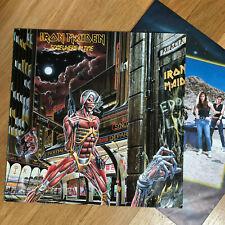 Iron Maiden – Somewhere In Time, Vinyl, Schallplatte 1. PRESS 1986, OIS TOP!