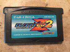 Rock Man ZERO 2 Japanese GBA *USA Seller* MEGA MAN