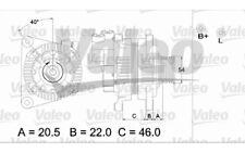 VALEO Alternador para CITROEN XSARA JUMPY PEUGEOT 206 205 FIAT SCUDO DUCATO