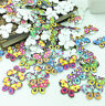 FREE Butterfly Wooden Buttons 2 Holes Fit Sewing and Scrapbook 30x20mm