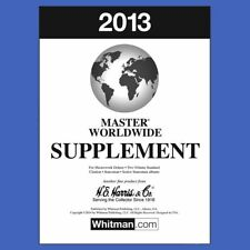 2013 H E Harris Master Worldwide Supplement for Statesman and Other Albums