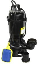 IBO VIPER 550W Submersible Sewage Dirty Water Septic Pump Float Switch sump pond
