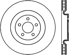 Disc Brake Rotor-Shelby GT500 Front Left Stoptech fits 11-14 Ford Mustang