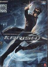 KRRISH 3 - EROS 2 DVD SET BOLLYWOOD  - Hrithik Roshan, Priyanka Chopra, Vivek.