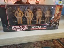 McFarlane Stranger Things Ghostbusters 4-Figure Pack Dustin Mike Will Lucas New!