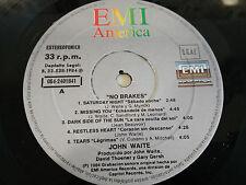 "JOHN WAITE NO BRAKES LP VINYL 12"" EMI 1984 SPAIN EDITION SOLO EL VINILO (G+)"