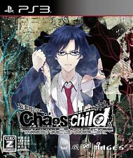 USED CHAOS;CHILD PS3 Japan Import Games 5pb. PlayStation 3 CHAOS CHILD //