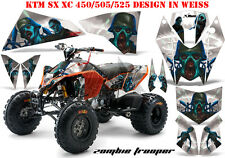 AMR Racing DECORO GRAPHIC KIT ATV KTM 450 505 525 SX XC Zombie Trooper B
