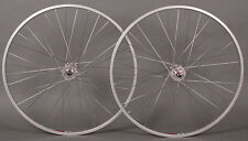 Sun CR18 Silver Track Bike Fixed Gear Singlespeed Wheels Wheelset 36h DT 2.0