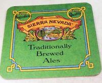 Sierra Nevada Brewing Co IPA California Bar Coaster Beer Free Shipping USA