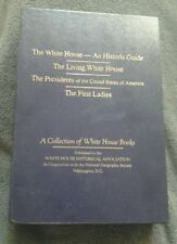 A Collection of White House Books (4) 1991 Boxed by White House Historial Assoc.