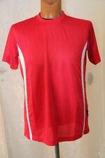 PEN DUICK - tee shirt Sport Tee homme   ML PK 100 rouge et blanc taille M  neuf