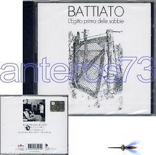 """FRANCO BATTIATO """"L'EGITTO PRIMA DELLE SABBIE"""" CD 1998 SIGILLATO - ITALIAN PROG"""
