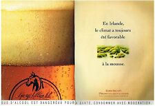PUBLICITE ADVERTISING  1993  GEORGE KILLIAN' S   bière  (2 pages)