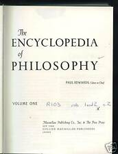 The Encyclopedia of Philosophy - 8 volumes in 4 books