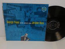 GEORGE FEYER plays Jerome Kern LP VOX VX 25.500 Mono RVG Original vinyl album