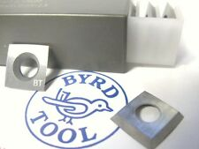 "Byrd Shelix Insert KN400 carbide 4-edge radius 100mm- 4""  Case of 10 inserts"