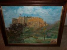 OIL PAINTING FROM ORIGINAL PICTURE  ORIGINAL PICTURE INCLUDED W/PAINTING SIGNED