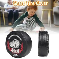 Spare Tire Cover Protector Leather Wheel For 1/10 RC Crawler Traxxas TRX4 Car