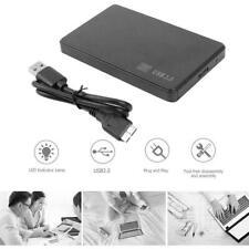 "2.5"" SATA USB 3.0 Disco Duro Caja HDD SSD Portátil Externo para Windows RHSP"