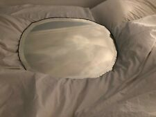 New listing Vintage Mirror Frameless Antique Wall Mirror Beveled 22x16