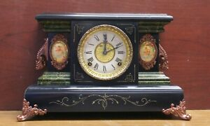 EN Welch Mantle Clock