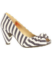 Women's Striped Court Heels