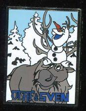Frozen Starter Olaf & Sven Disney Pin 101986