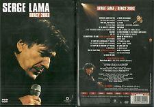 DVD - SERGE LAMA : SERGE LAMA EN CONCERT A PARIS BERCY / COMME NEUF