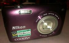 Nikon Coolpix S4300 16MP wide 6X Zoom 4.6-27.6mm 36027572