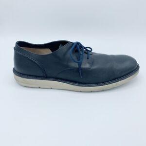 Clarks Mens Oxfords Shoes Blue Lace Up Low Top 12 M