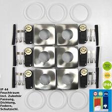 Luminaire à encastrer darlux 61303664 Cadre d'encastrement 6xebl GU10 monture