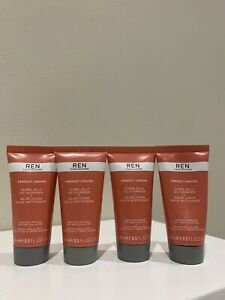 REN Perfect Canvas Clean Jelly Oil Cleanser 4 x 15ml
