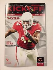 Chicago Bears Arizona Cardinals Kickoff Magazine Program 9/23/2018 Khalil Mack