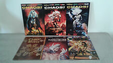CHAOS QUATERLY (LADY DEATH)  N°1 à 3 + CHAOS ! BIBLE    (EN VERSION ORIGINALE)