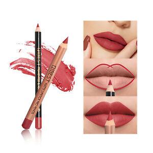 15 Shades Waterproof Lip Liner Lipstick Long Lasting Matte Lipliner Pencil Pen