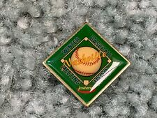 1998 MLB Baseball Winter Meetings Baseball Press Pin Jostens Atlanta