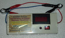 Battery Life Enhancer /Pulsar/Rejuvenator/Reconditioner with Digital Voltmeter