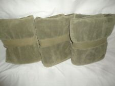 VINTAGE RALPH LAUREN AVENUE BALSAM WOODS GREEN (3PC) SET BATH TOWELS