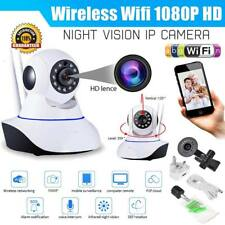1080P HD Wireless Wifi IP Camera IR Security Webcam Baby Monitor CAM Pan Tilt UK