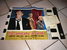 SCANDALO AL SOLE A SUMMER PLACE FOTOBUSTA SANDRA DEE DONAHUE EGAN DAVES 1960