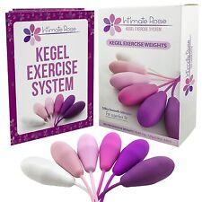 Intimate Rose Kegel Exercise Weights - Bladder Control, Pelvic Floor Exerciser