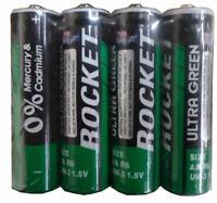 Rocket 4 Pack Heavy Duty AA Batteries (Pack of: 2) - BH-AA-4PK-RT-Z02